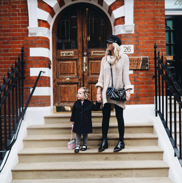 Staying in luxury… with a two year old