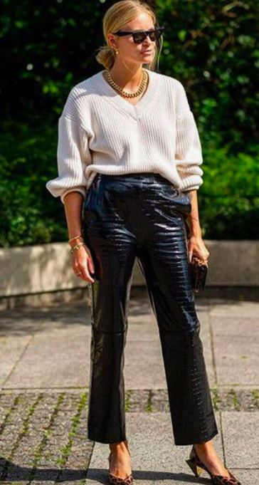 9 pairs of leather trousers to rock now